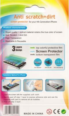 Anti-Glare Screen Guard for HTC HD Mini