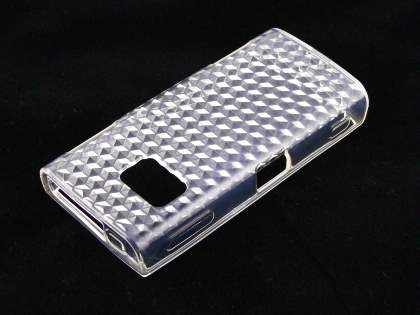 Nokia X6 TPU Gel Case - Diamond Clear