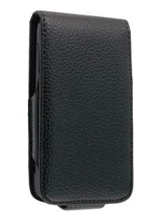 Synthetic Leather Flip Case for HTC 7 Trophy - Black