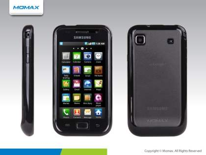 MOMAX iCase Pro Case for Samsung Galaxy S - Black/Grey