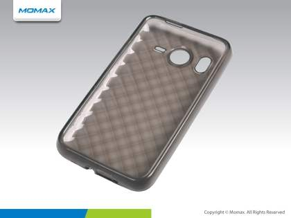 MOMAX i-Crystal Case II  for HTC Desire HD - Light Grey