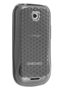 Diamond TPU Gel Case for Samsung Galaxy 580 - Clear Soft Cover