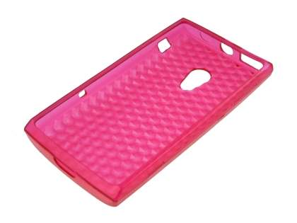 Sony Ericsson Xperia X10 Diamond TPU Gel Case - Pink