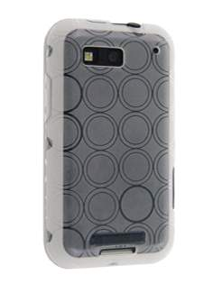 Motorola DEFY TPU Gel Case - Frosted Clear