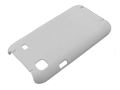 UltraTough Rubberised Slim Case for Samsung I9000 Galaxy S - White