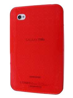 Samsung Galaxy Tab P1000 TPU Case - Crimson Red