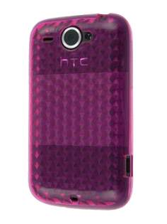 TPU Gel Case for HTC Wildfire G8 - Pink Soft Cover
