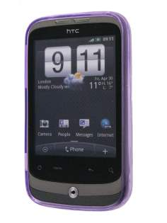 HTC Wildfire G8 TPU Gel Case - Purple