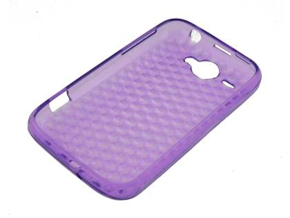 TPU Gel Case for HTC Wildfire G8 - Purple