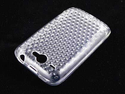 TPU Gel Case for HTC Wildfire G8 - Clear