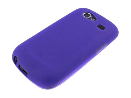 Samsung I9023 Google Nexus S TPU Case - Frosted Purple