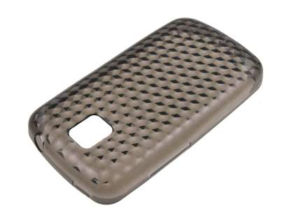 LG Optimus One P500 Diamond TPU Case - Grey