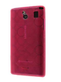 TPU Case for Samsung Omnia 7 - Pink Soft Cover
