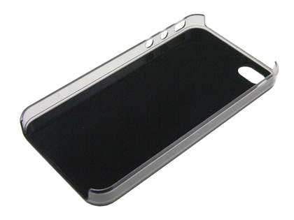 Designer Styled Back Case for iPhone 4 only - Black