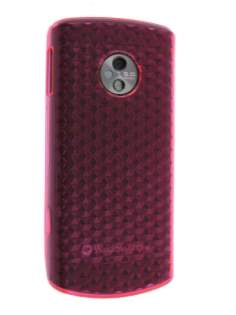LG E900  Optimus 7 TPU Diamond Case - Pink