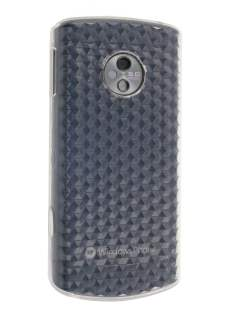 LG E900  Optimus 7 TPU Diamond Case - Clear