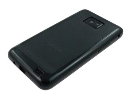Samsung I9100 Galaxy S2 Dual-Design Case - Black/Grey