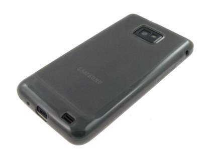 Samsung I9100 Galaxy S2 TPU Gel Case - Frosted Grey