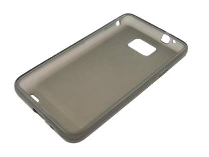TPU Gel Case for Samsung I9100 Galaxy S2 - Frosted Grey