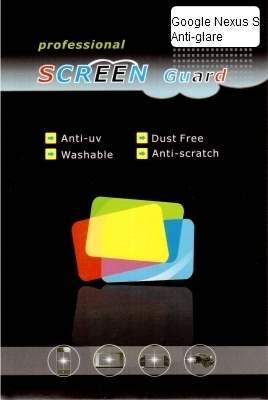 Samsung I9023 Google Nexus S Anti-Glare Screen Protector
