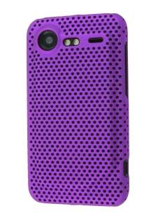HTC Incredible S Slim Mesh Case - Purple
