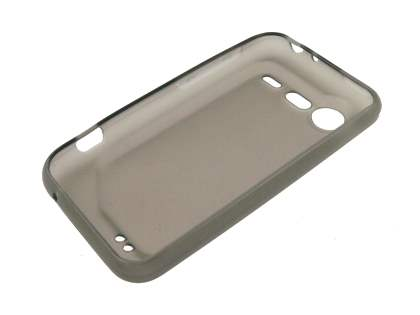 HTC Incredible S TPU Gel Case - Frosted Grey