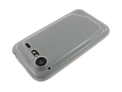 HTC Incredible S TPU Gel Case - Frosted Clear