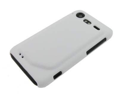 HTC Incredible S UltraTough Rubberised Slim Case - White