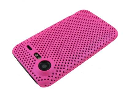 Slim Mesh Case for HTC Incredible S - Pink