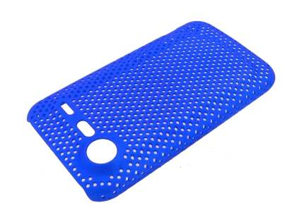 HTC Incredible S Slim Mesh Case - Blue