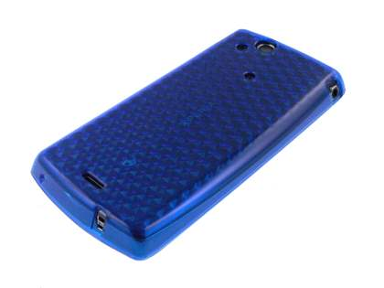 TPU Gel Case for Sony Ericsson XPERIA Arc/Arc S - Blue