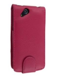 Sony Ericsson XPERIA Arc/Arc S Synthetic Leather Flip Case - Pink