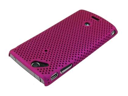 Sony Ericsson XPERIA Arc/Arc S Mesh Case - Pink