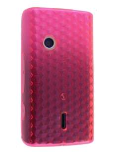 TPU Gel Case for Sony Ericsson XPERIA X8 - Pink Soft Cover