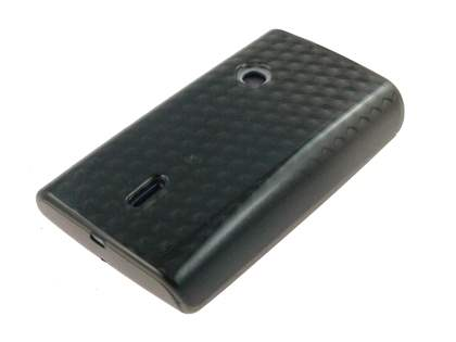 Sony Ericsson XPERIA X8 TPU Gel Case - Grey