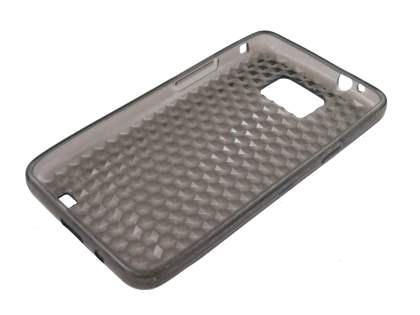 Samsung I9100 Galaxy S2 TPU Gel Case - Diamond Grey