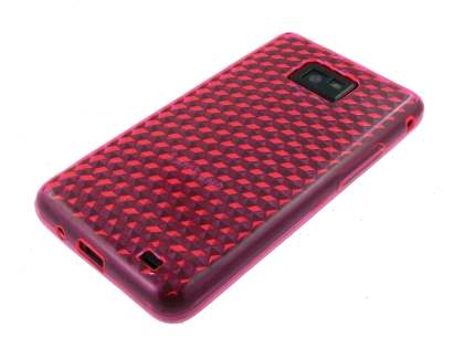 Samsung I9100 Galaxy S2 TPU Gel Case - Diamond Pink