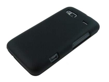 UltraTough Rubberised Slim Case for HTC Desire Z - Classic Black