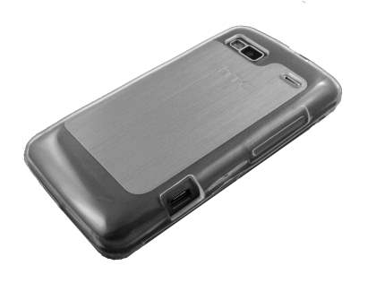 TPU Gel Case for HTC Desire Z - Clear