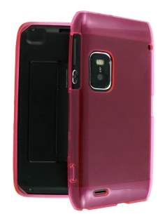 TPU Gel Case for Nokia E7 - Pink