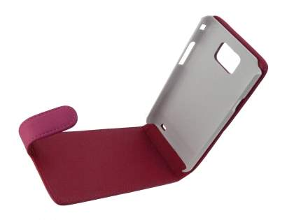 Samsung I9100 Galaxy S2 Synthetic Leather Flip Case - Pink