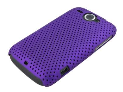 HTC Wildfire G8 Mesh Case - Purple