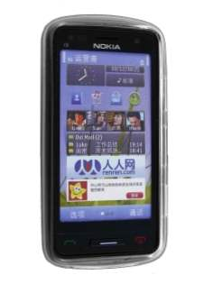 Nokia C6-01 TPU Gel Case - Clear