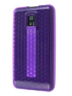 TPU Gel Case for LG Optimus 2X P990 - Purple