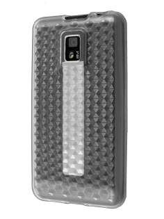 TPU Gel Case for LG Optimus 2X P990 - Clear Soft Cover
