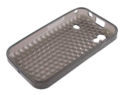 Samsung Galaxy Ace S5830 TPU Gel Case - Diamond Grey