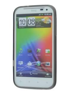 HTC Sensation XL Dual-Design Case - Grey/Frosted Grey