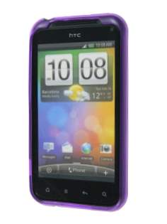 TPU Gel Case for HTC Incredible S - Purple