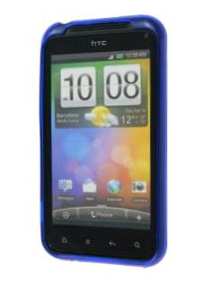 TPU Gel Case for HTC Incredible S - Diamond Blue