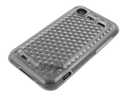 TPU Gel Case for HTC Incredible S - Diamond Clear